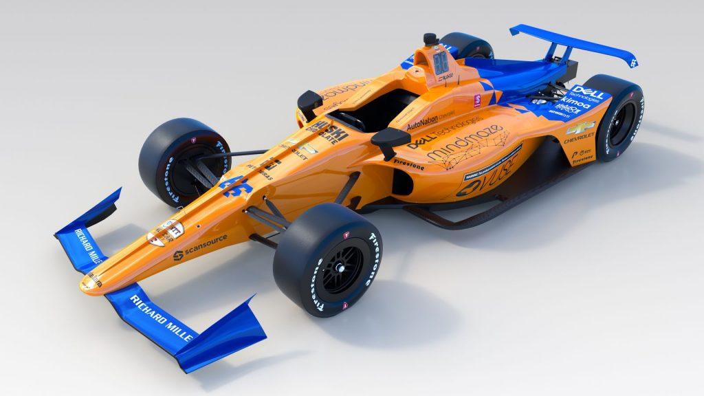 «Макларен» представил машину Алонсо для «Инди-500»