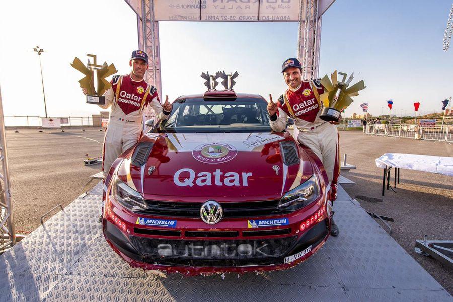 Нассер Аль-Аттия выиграл второй этап ближневосточного чемпионата по ралли