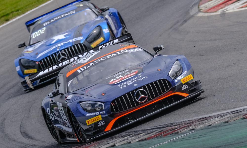 Бастиан и Нойбауэр победили в первой гонке «Бланпен ГТ Спринт» в Брэндз-Хэче, Салихов выиграл в «Про-Ам»