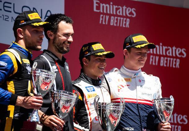 Де Врис: Это лучшая награда. Пресс-конференция по итогам второй гонки «Формулы-2» в Испании