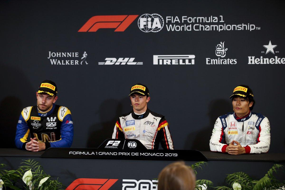 Ник де Врис: Я бы предпочел гонку без красных флагов! Пресс-конференция по итогам основной гонки «Формулы-2» в Монако