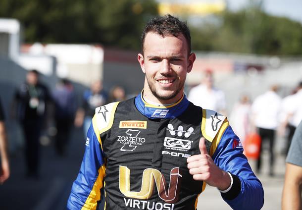Лука Гьотто выиграл поул перед первой гонкой «Формулы-2» в Испании, Мазепин — 12-й