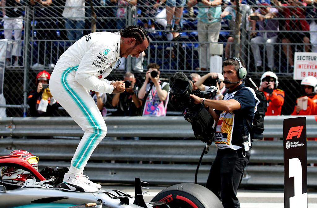 Хэмилтон выиграл Гран-при Монако 2019 года, Квят — 7-й