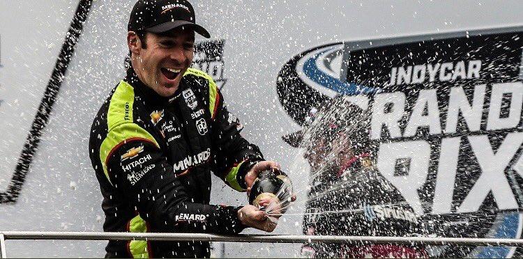 Пажно стал пятым победителем в пятой гонке «Индикара»