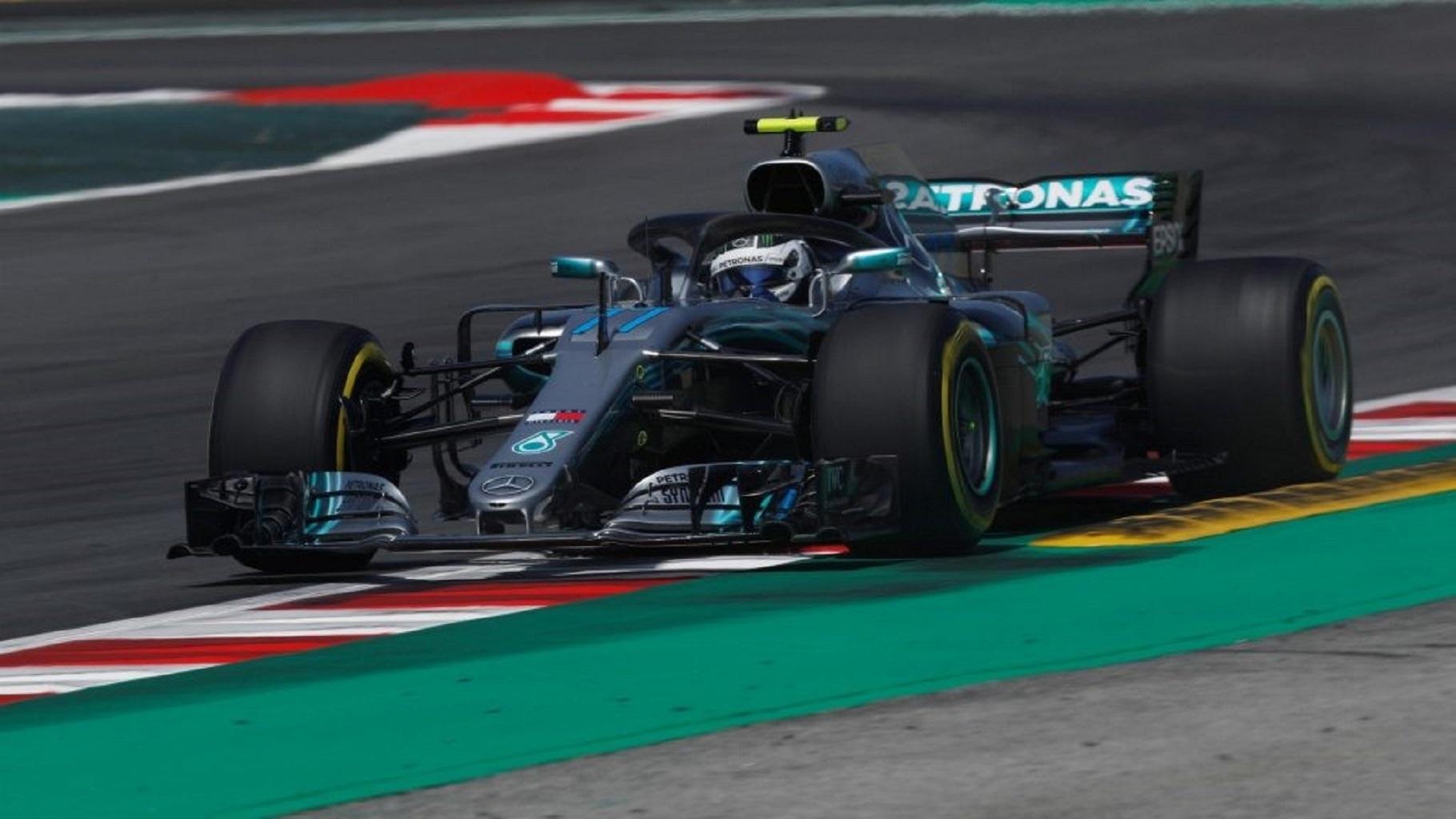 Валттери Боттас завоевал поул-позицию к Гран-при Испании, Квят — 9-й