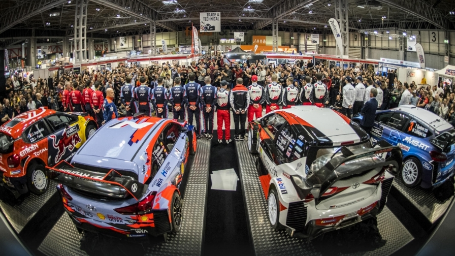Официально: В WRC перейдут на гибридные двигатели с 2022 года