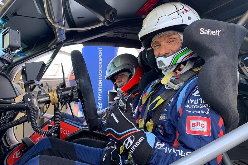 Габриэле Тарквини протестировал раллийный автомобиль «Хёндэ i20»