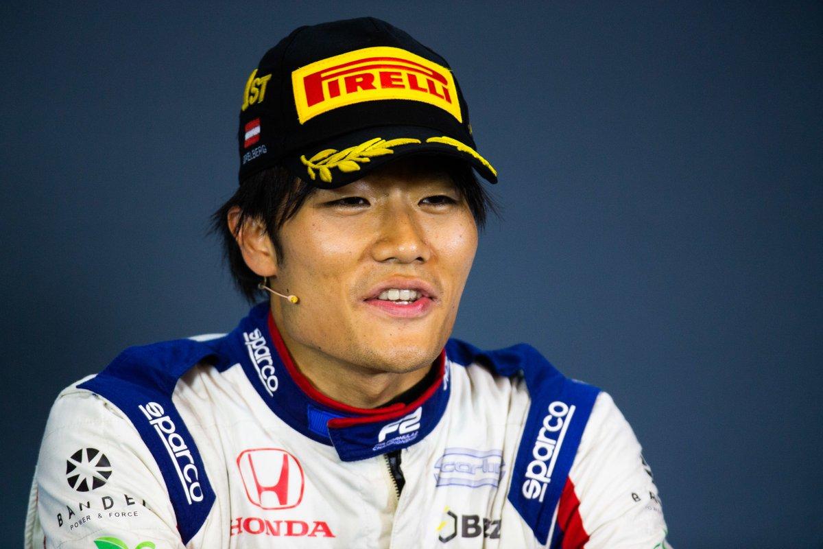Мацусита: Это была моя лучшая гонка в «Формуле-2». Пресс-конференция по итогам первой гонки «Формулы-2» а Австрии