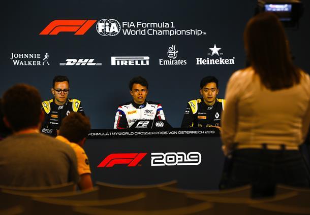 Ник де Врис: Завтра все начнется заново. Пресс-конференция первой тройки по итогам квалификации «Формулы-2» в Австрии