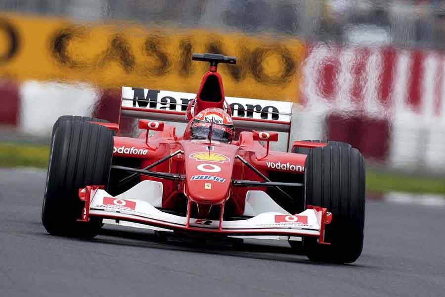 «Феррари» Шумахера уйдёт с молотка во время Гран-при Абу-Даби