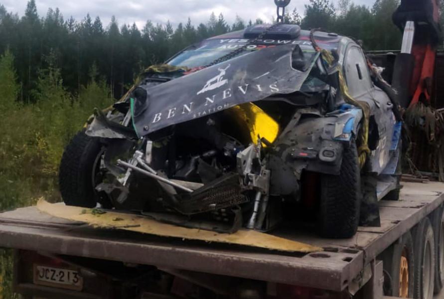 Хейден Пэддон не сможет принять участие в Ралли Финляндии из-за аварии на тестах