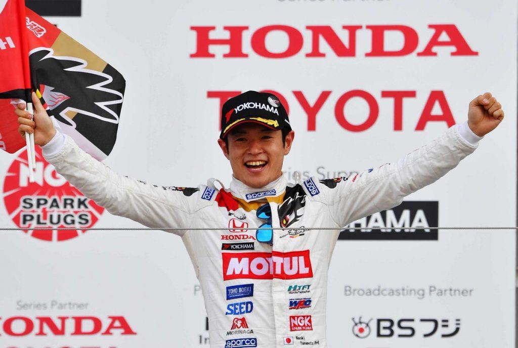 В «Хонде» хотят привести в «Формулу-1» Наоки Ямамото