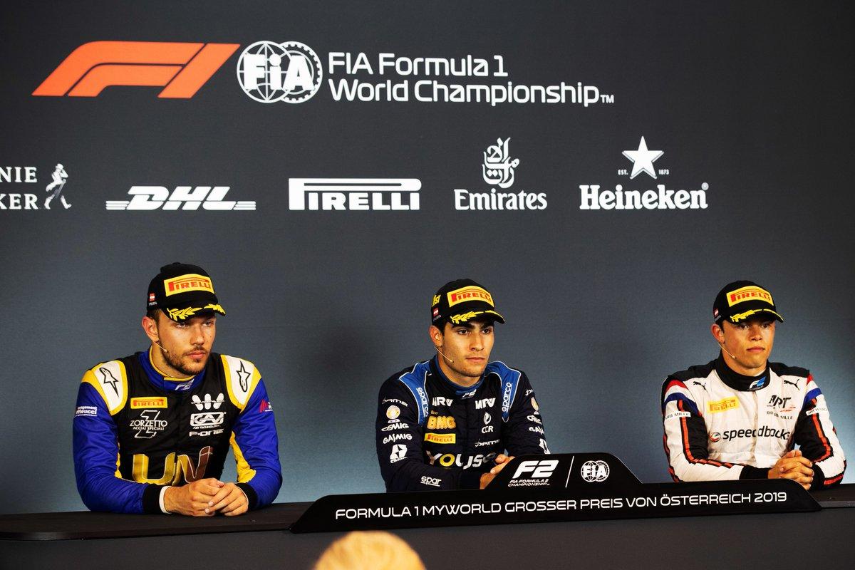 Камара: Это была нелегкая гонка! Пресс-конференция по итогам второй гонки «Формулы-2» в Австрии