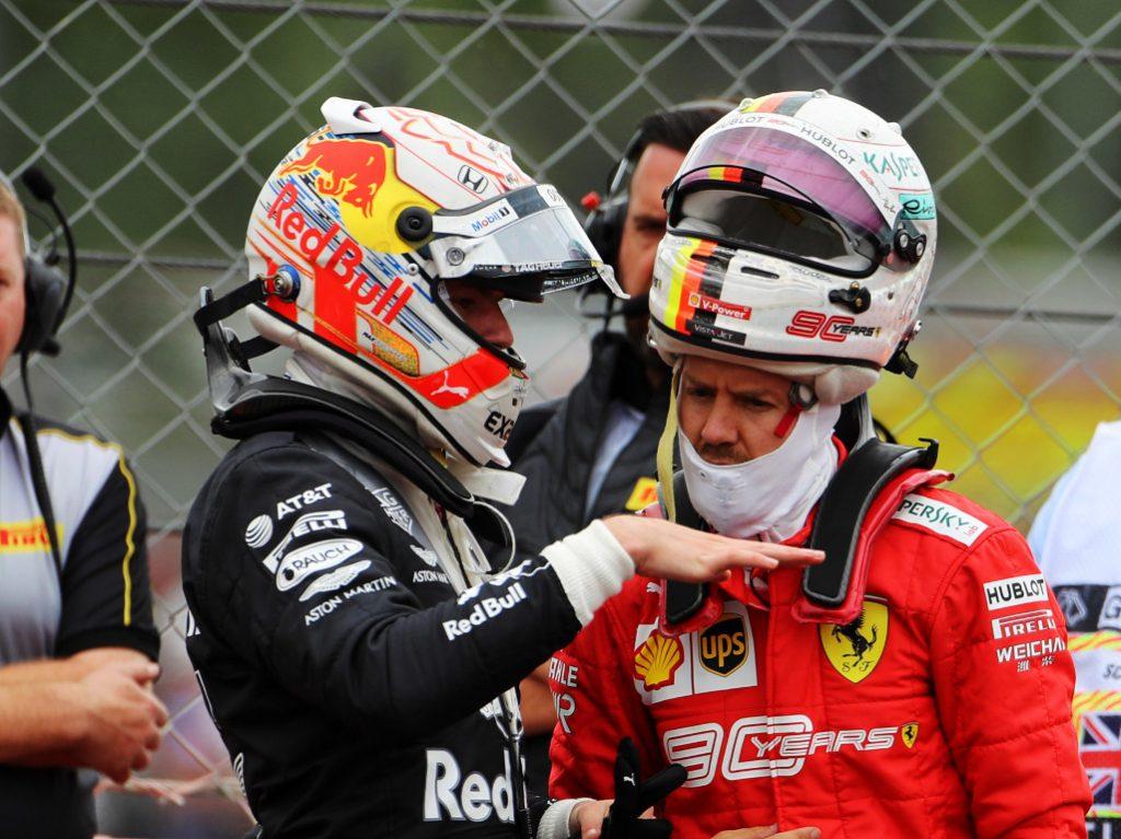 «Феррари» и «Ред Булл» продолжили переговоры об обмене Верстаппена на Феттеля в Германии