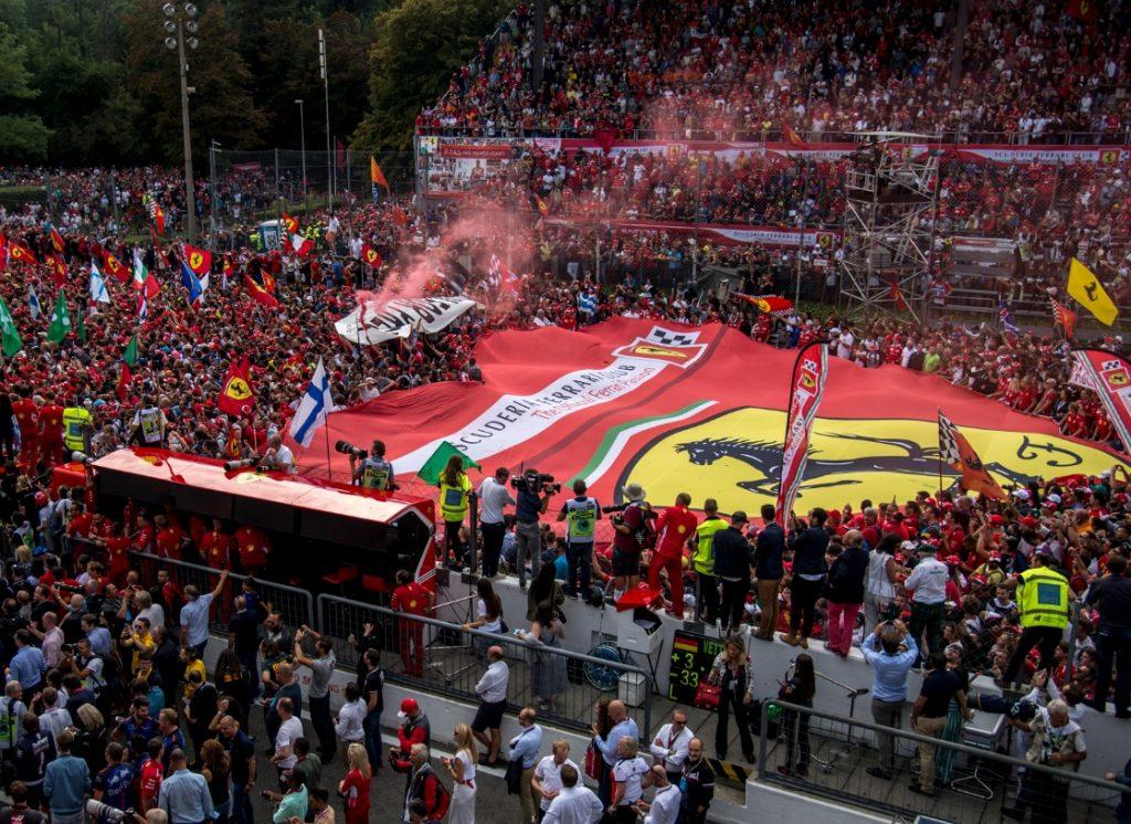 О продлении контракта на проведение Гран-при Италии будет объявлено в начале сентября