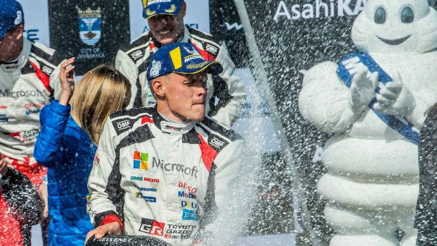 Тянак закрепил лидерство в чемпионате выиграв в Ралли Финляндии, Грязин выиграл в зачёте WRC-2