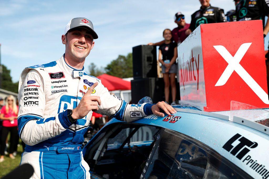 Остин Синдрик выиграл вторую гонку подряд в «Иксфинити»