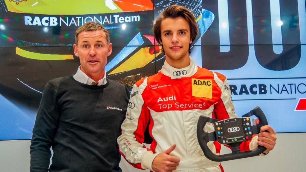 Бывший вице-чемпион французской Ф4 представит Бельгию на Играх в Валлелунге