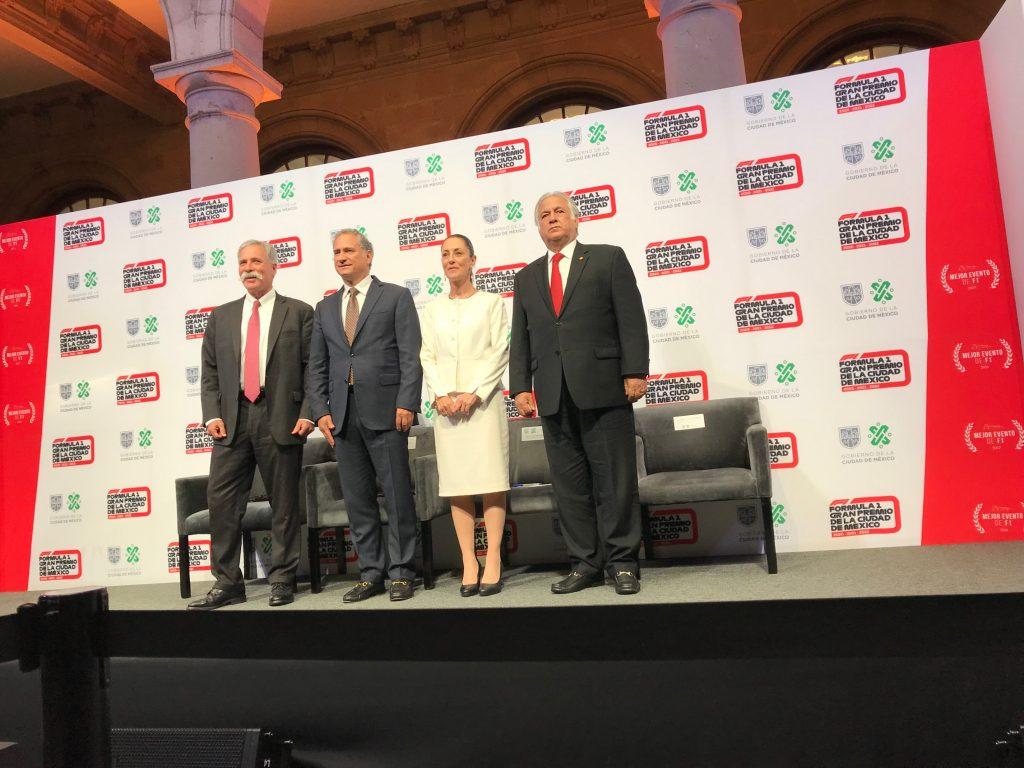 Контракт Гран-при Мексики продлён на три года