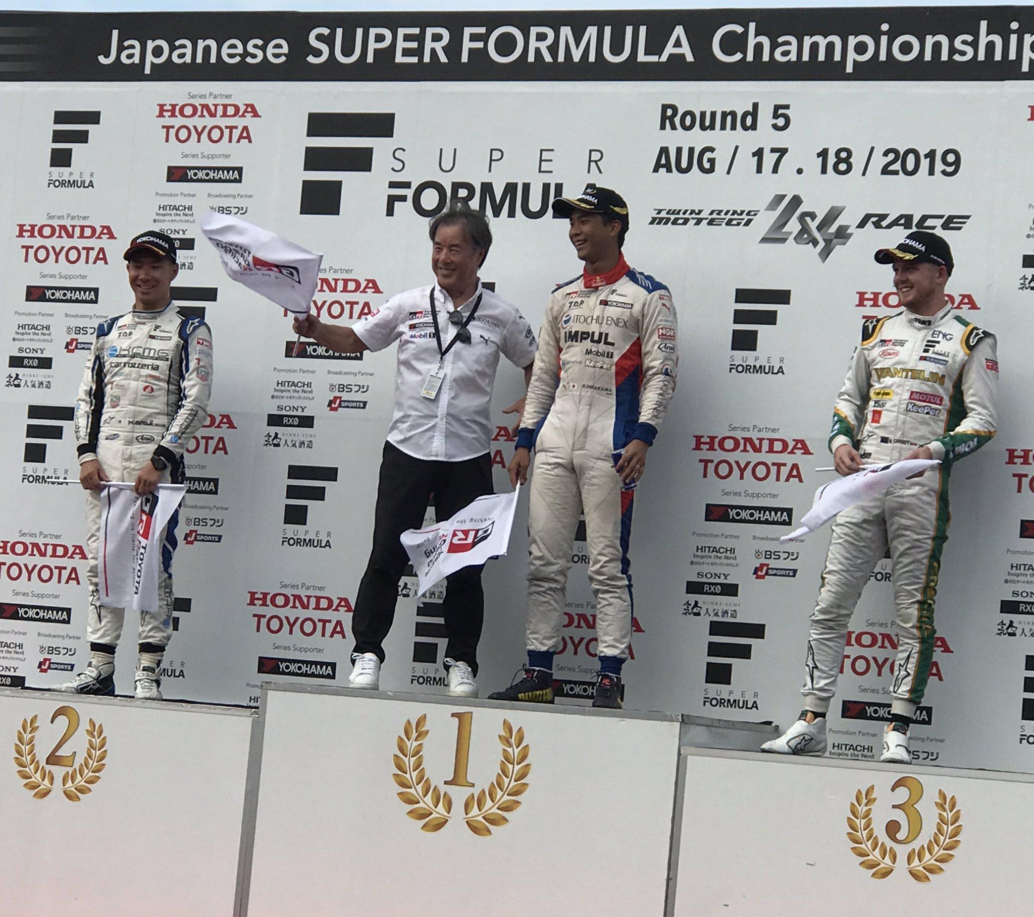Провал лидера сезона и первая победа Хиракавы. Итоги визита «Супер Формулы» в Мотеги