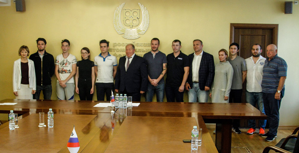 Президент РАФ сборной на Международных автоспортивных играх: Вы — новое поколение «золотого состава российского автоспорта»
