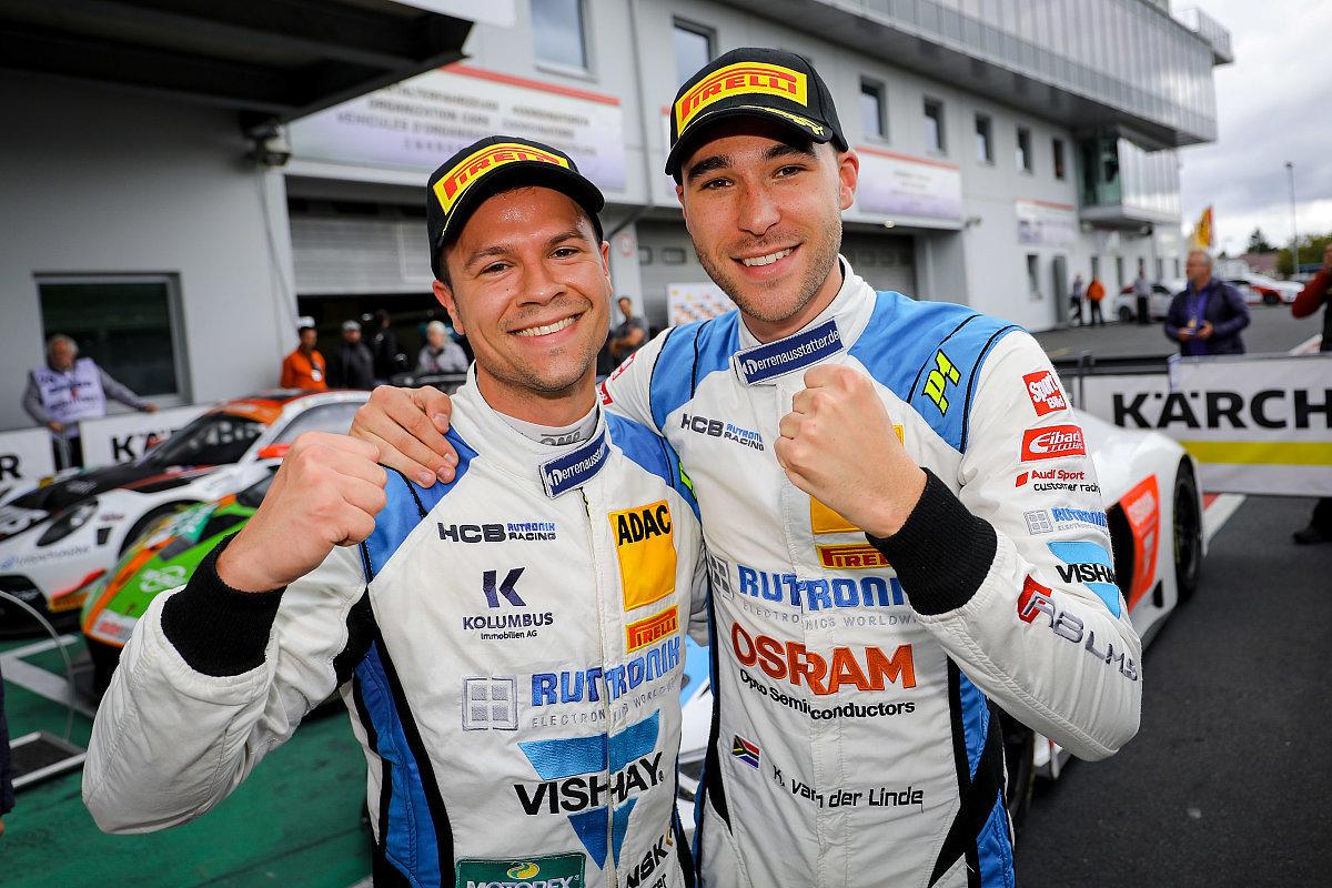 Ван дер Линде и Нидерхаузер — досрочные чемпионы «АДАК ГТ Мастерс»