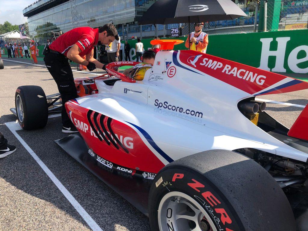 Шварцман выиграл первую гонку «Формулы-3» в Италии!