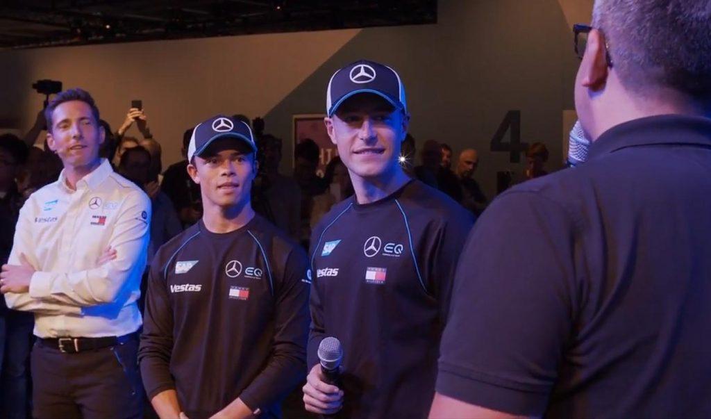 Вандорн и де Врис будут гонщиками «Мерседеса» в «Формуле-Е»