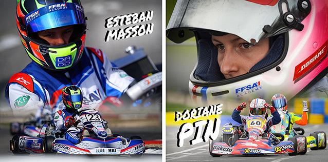 Пин и Массон представят Францию на Международных автоспортивных играх