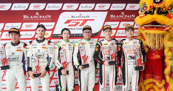 Рулоф Брюйнс стал чемпионом азиатской серии «Бланпен ГТ»