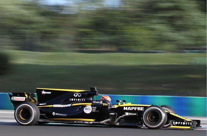 Лундгор впервые сел за руль машины «Формулы-1»