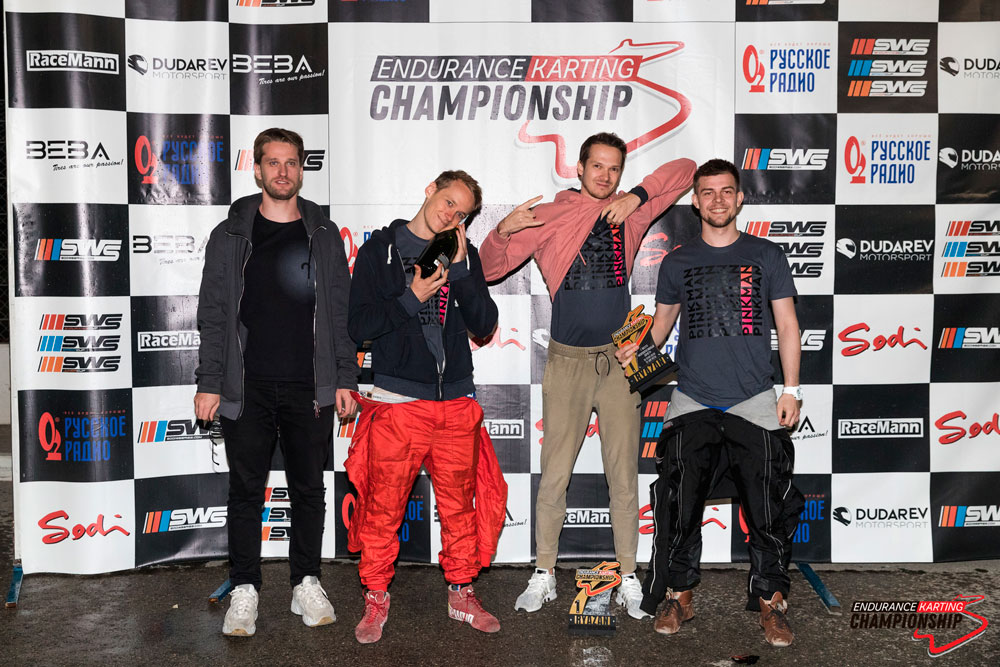 Команда Алексея Несова выиграла этап ЕКС в Рязани