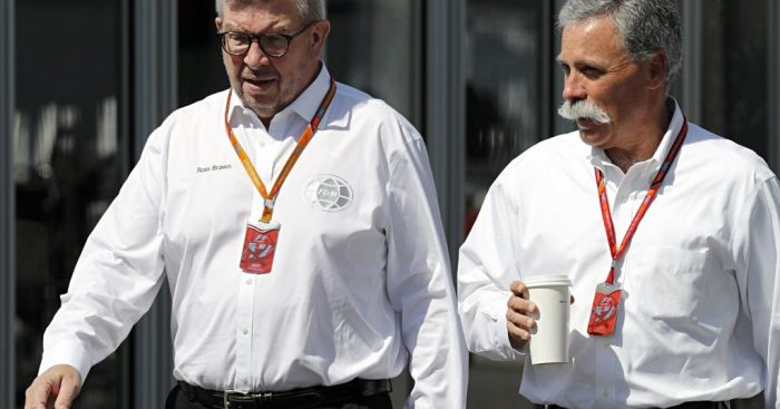 Кэри и Брон встретились с гонщиками в России для обсуждения правил 2021 года в Ф1