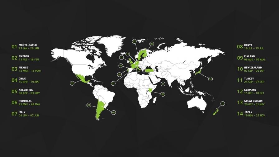 Ралли Японии, Кении и Новой Зеландии вернутся в 2020 году в WRC