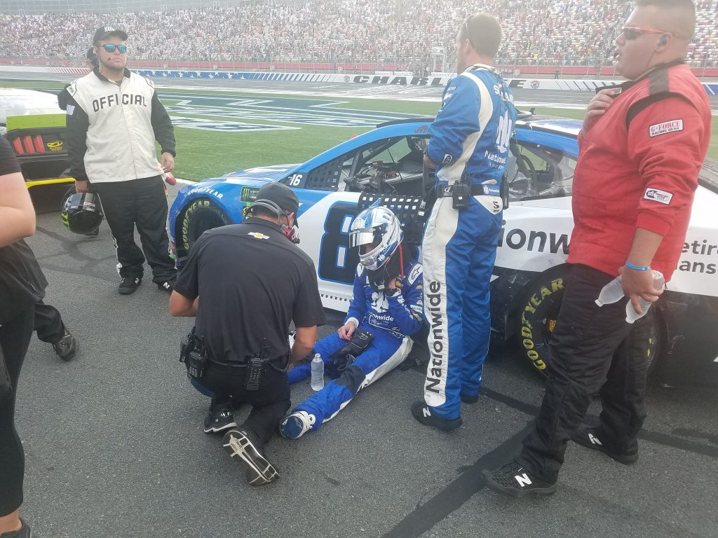 Боуман взял вину на себя за аварию на первом круге