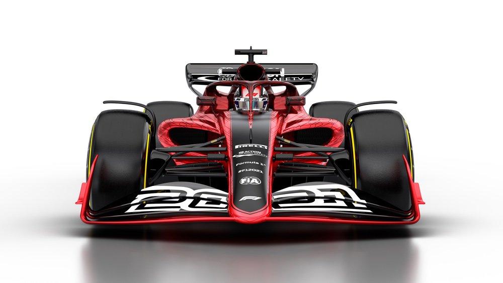 В «Формуле-1» показали окончательный вид машины на сезон-2021