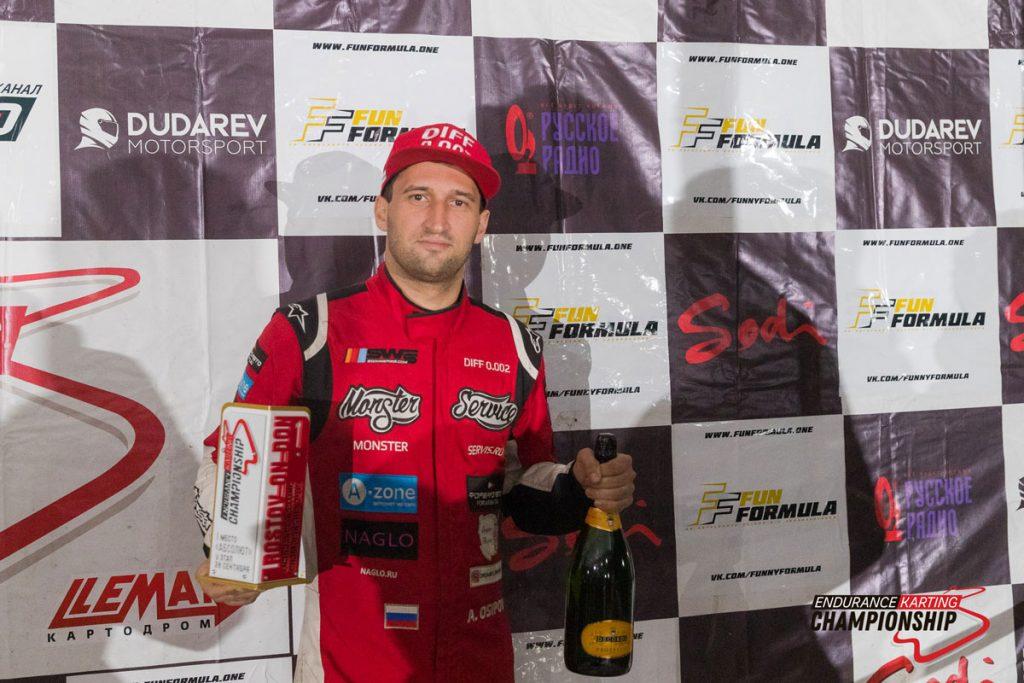 «ДИФФ 0.002 ЗЕКЬЮРИОН» досрочно стали чемпионами Endurance Karting Championship