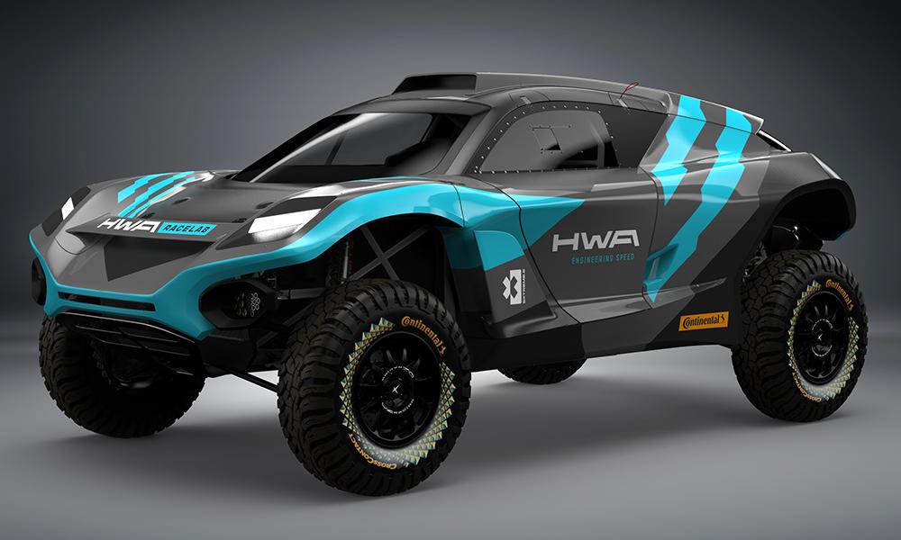 ХВА представили прототип автомобиля для «Экстрим-Е»
