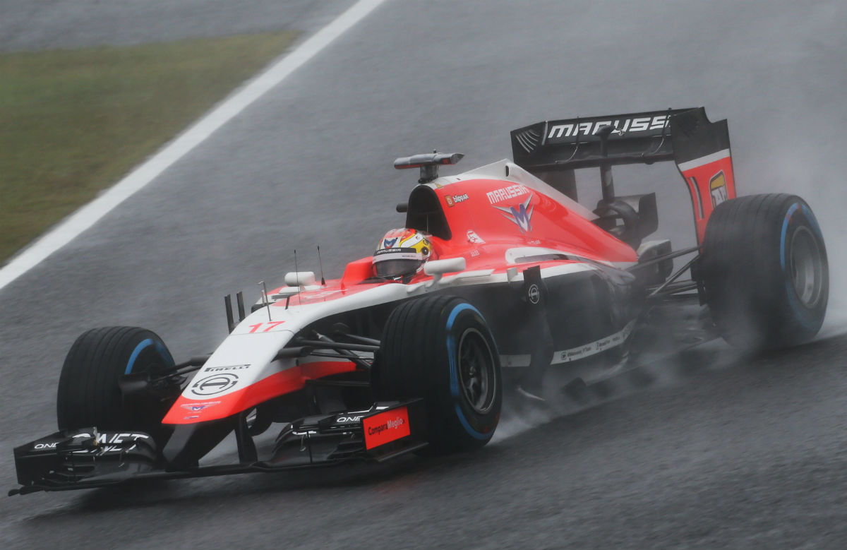 Все гонки Жюля Бьянки в «Формуле-1»