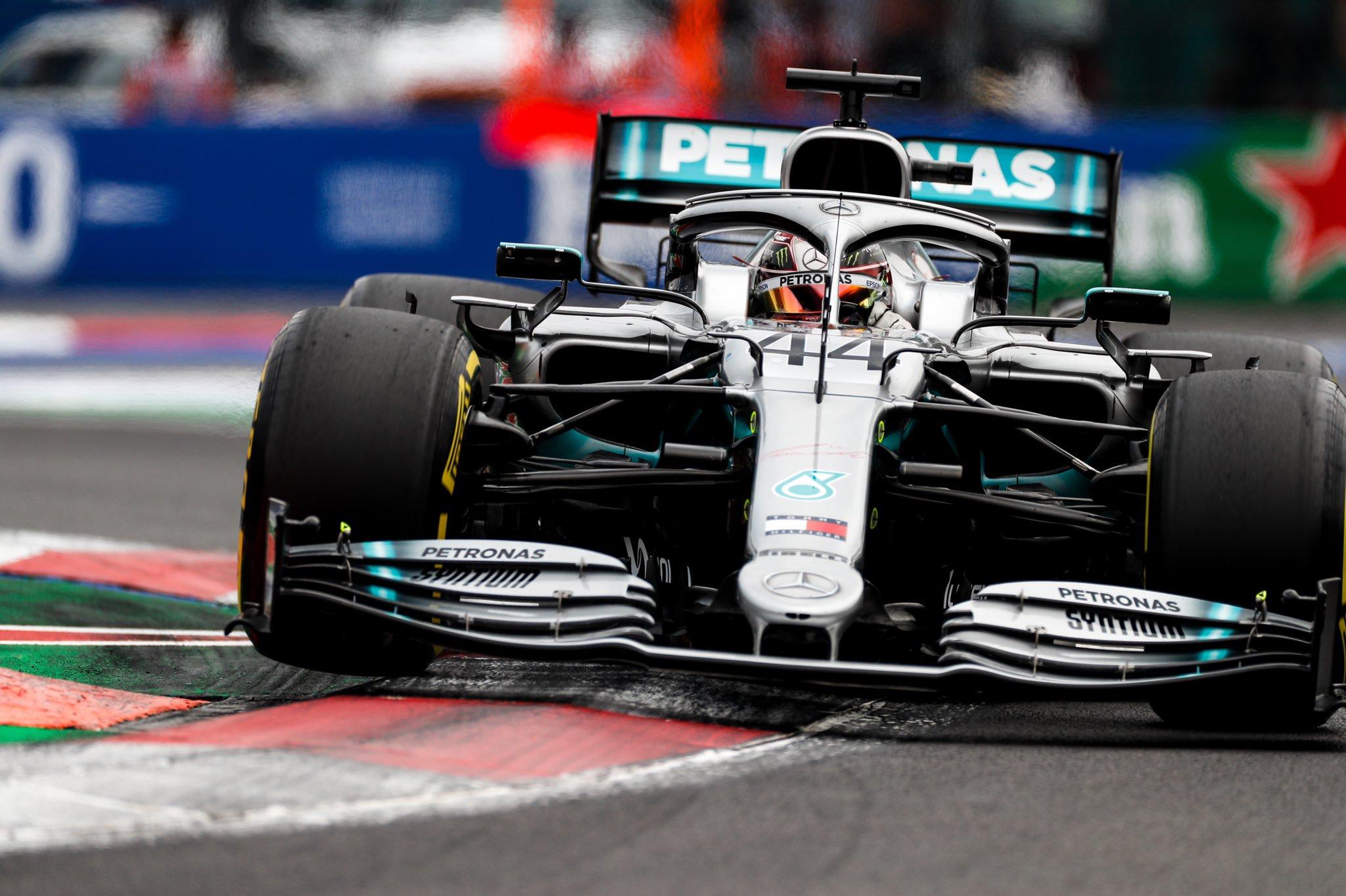 Льюис Хэмилтон выиграл Гран-при Мексики 2019 года, Квят — девятый