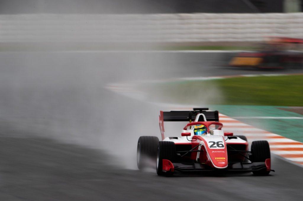 Сарджент стал лучшим в заключительный день тестов «Формулы-3»
