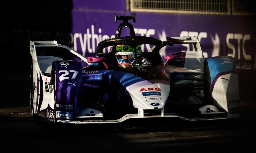 Симс выиграл квалификацию к первой гонке стартового этапа «Формулы-Е» в Эр-Рияде
