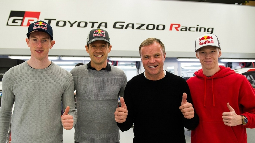 Ожье, Эванс и Рованперя присоединились к «Тойоте»