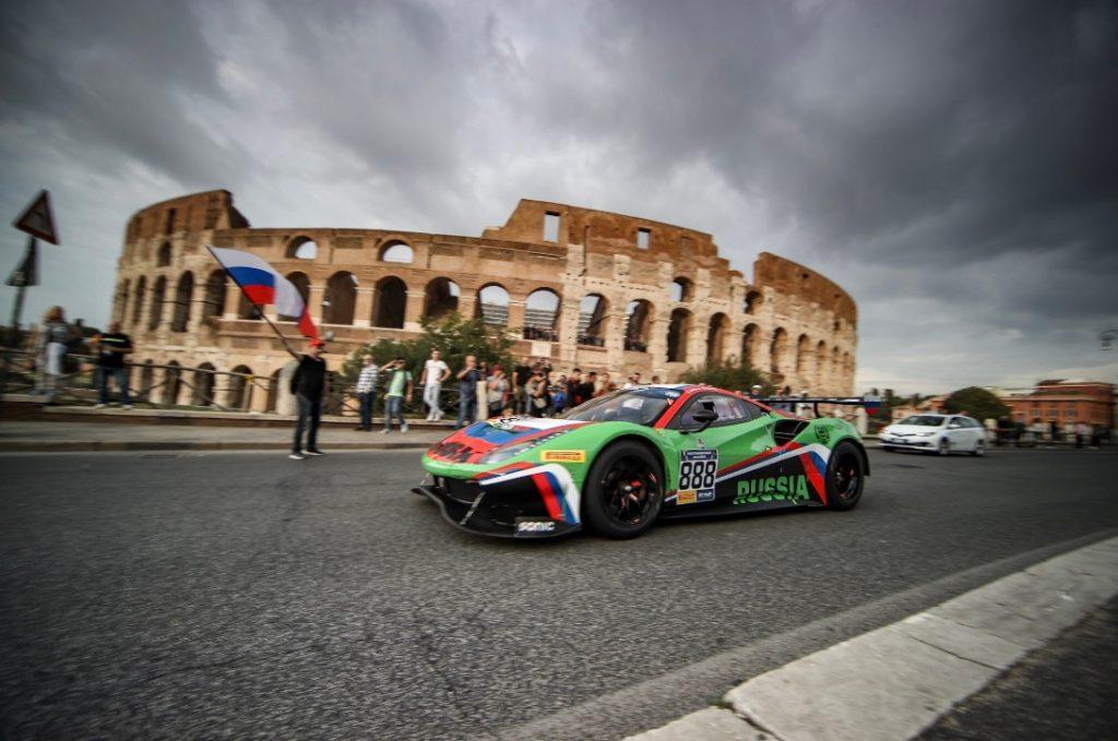 В Риме торжественно открылись первые Международные автоспортивные игры
