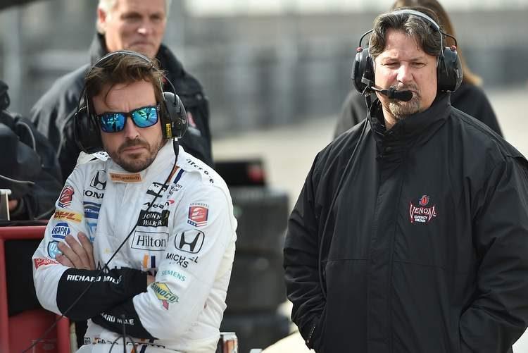 Андретти считает маловероятным участие Алонсо в «Инди-500» в составе его команды