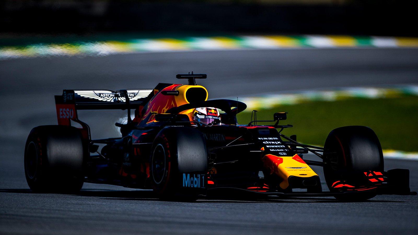 Макс Верстаппен выиграл Гран-при Бразилии 2019 года, Гасли на подиуме, Квят — 10-й