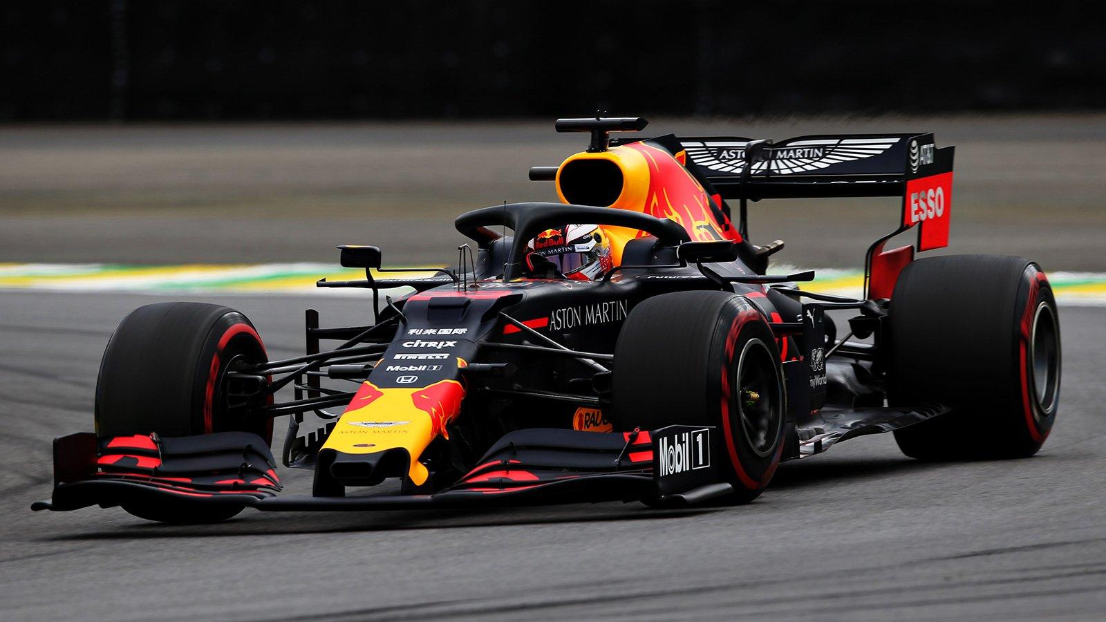 Макс Верстаппен выиграл квалификацию перед Гран-при Бразилии 2019 года, Квят — 16-й