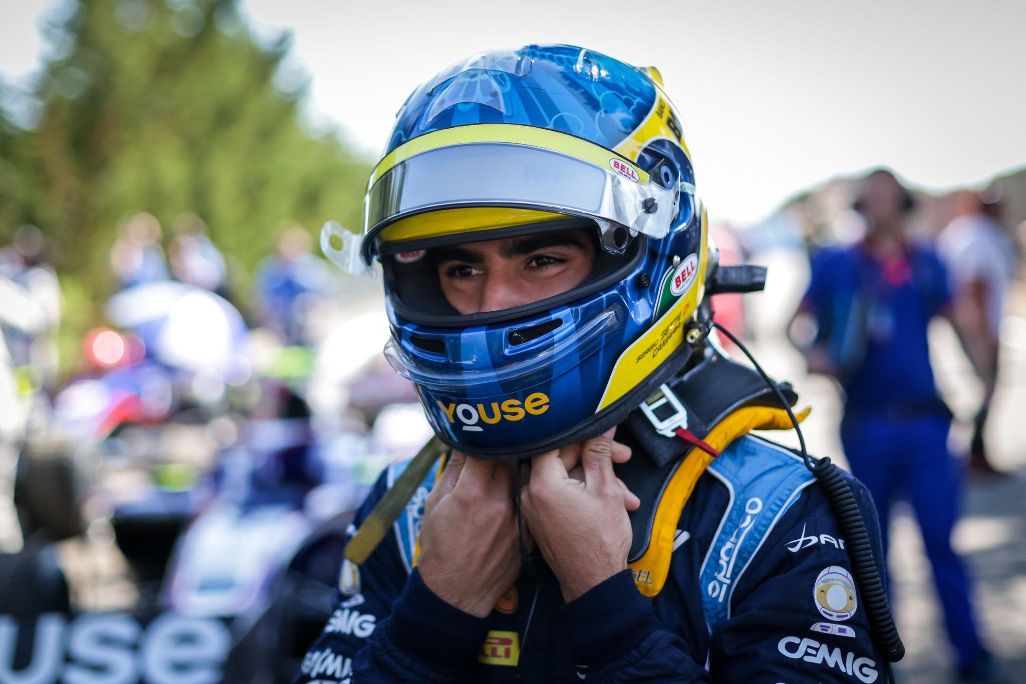 Камара завоевал первое место в заключительной квалификации «Формулы-2» 2019 года, Маркелов — 14-й