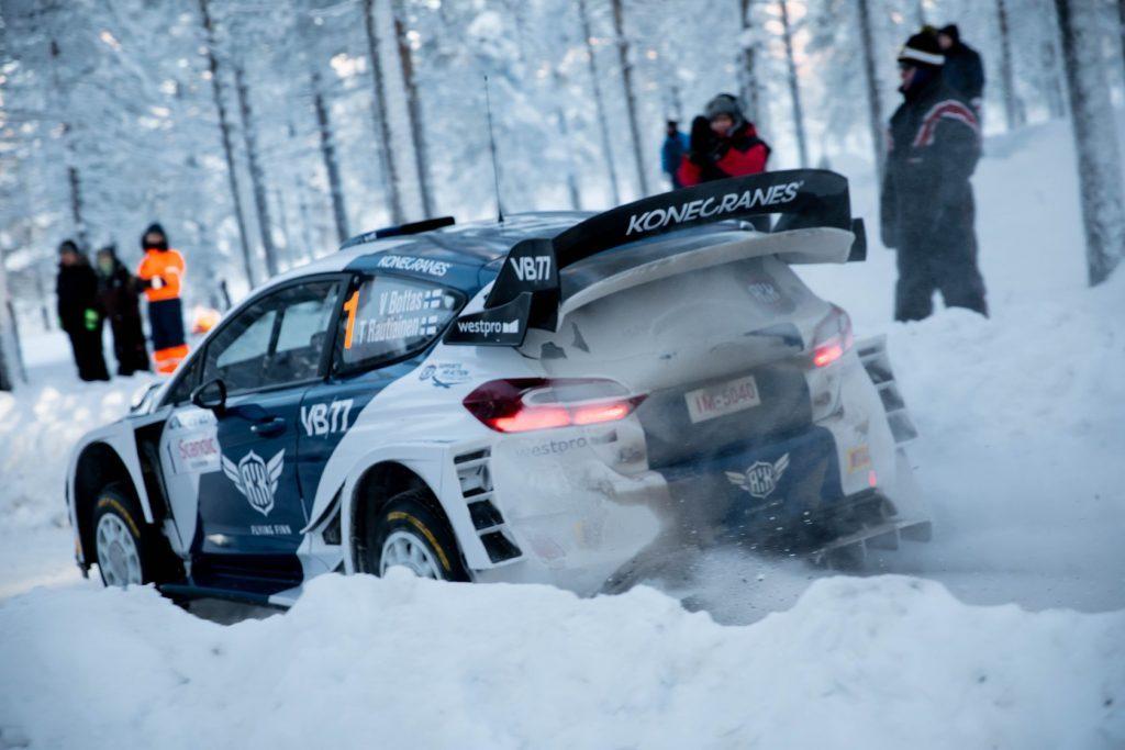 Боттас выступит в Ралли Лапландии за рулём «Ситроен DS3 WRC» в 2020 году