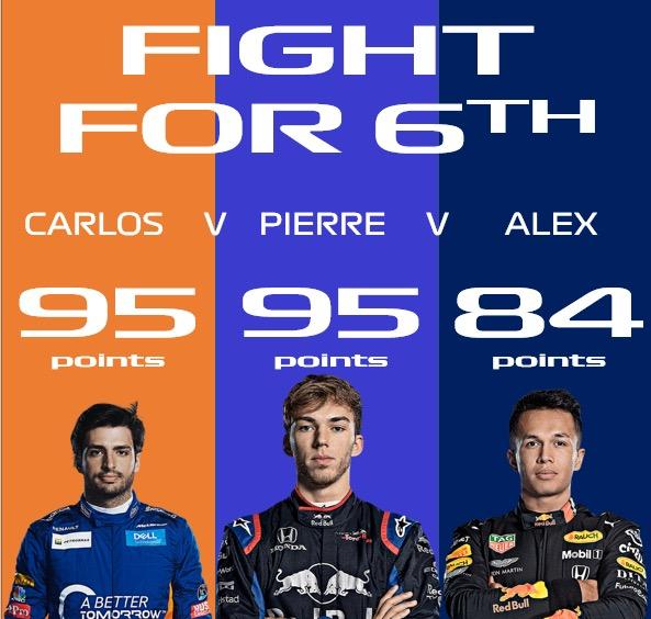 Кто за что борется в финале сезона «Формулы-1»